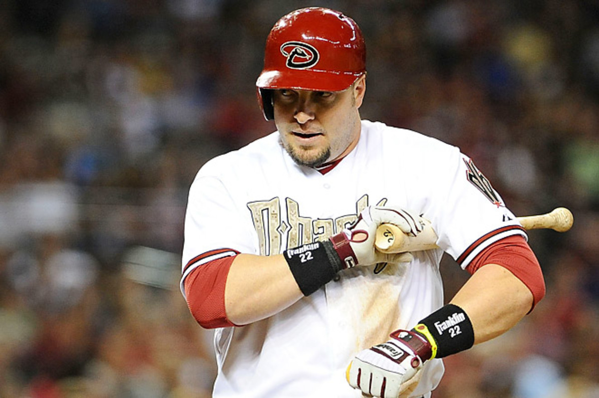 A total of eight players, including Hinske, were suspended after the Dodgers-Diamondbacks brawl.