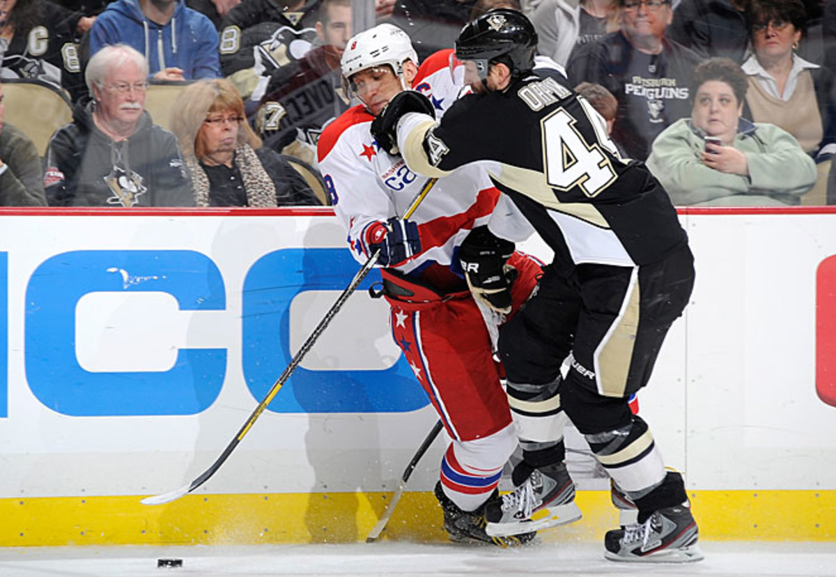 Clamping down on foes has proved to be a more satisfying way to win for Brooks Orpik and company.