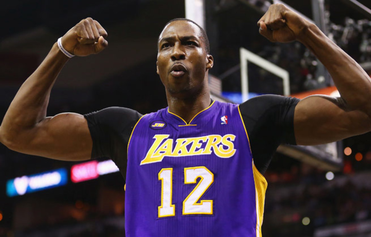 Dwight Howard spurned the Lakers to sign a four-year, $88M deal with the Rockets.
