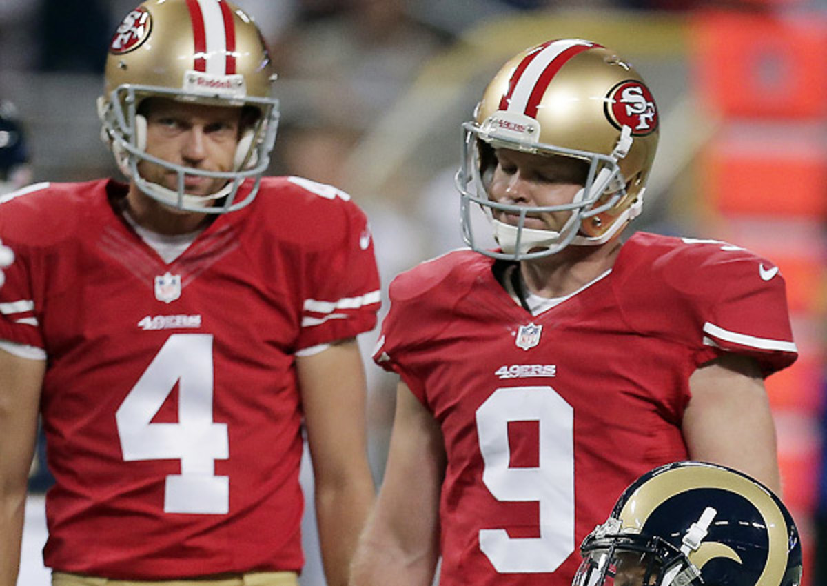 Phil Dawson is just 3-for-6 on field goals this season.