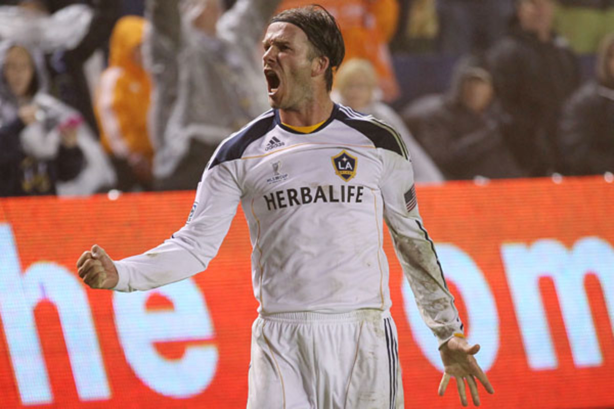 David Beckham left the L.A. Galaxy in December but will return to MLS as an owner. (Stephen Dunn/Getty Images)