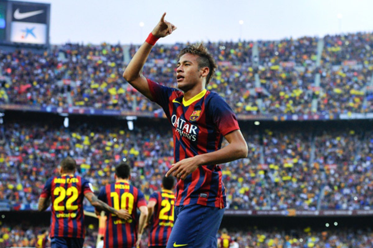 Barcelona and Brazil star Neymar