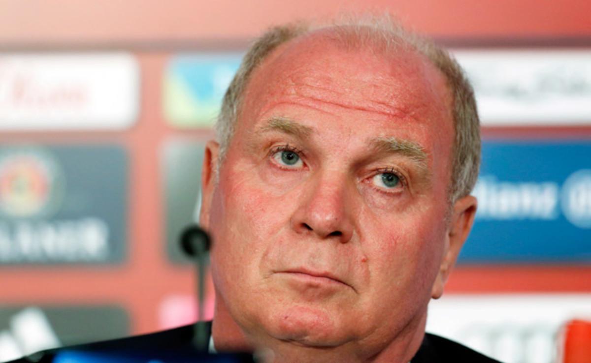 Uli Hoeness played for Bayern Munich from 1970-79.