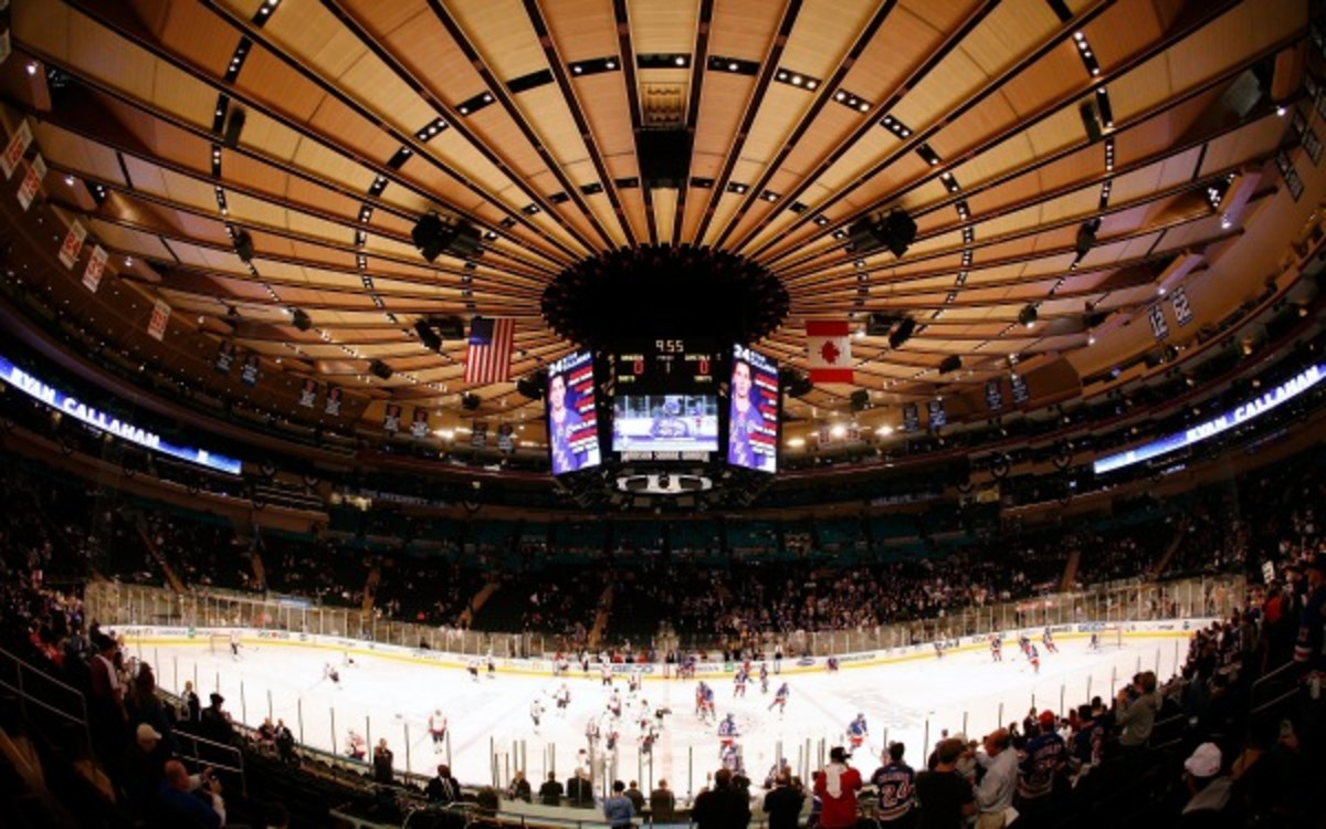 Madison Square Garden is being forced to relocate within the next 10 years.  (Scott Levy/NHLI)