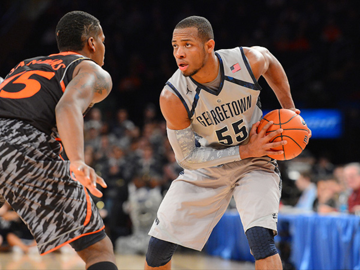 Georgetown will face off against Florida Gulf Coast University Friday in Philadelphia in hopes of advancing.(Rich Kane/Icon SMI)