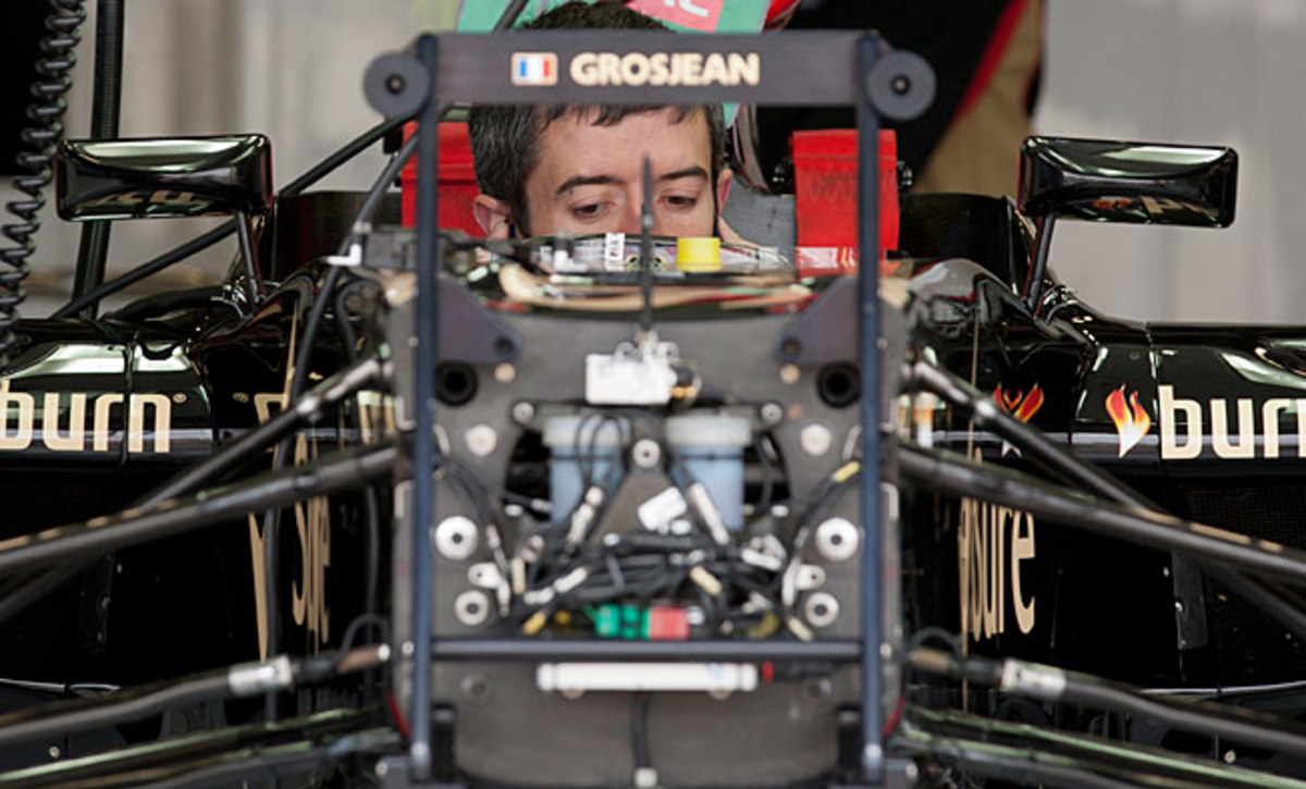 Romain Grosjean, banned for a race last year, would have to accumulate 12 points in the new system.