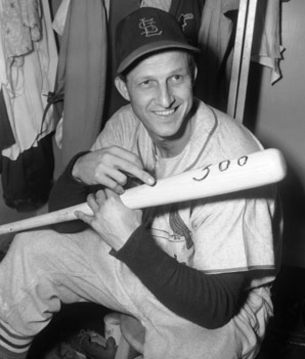 Stan Musial compiled one amazing hitting accomplishment after another during his Hall of Fame career. (AP)