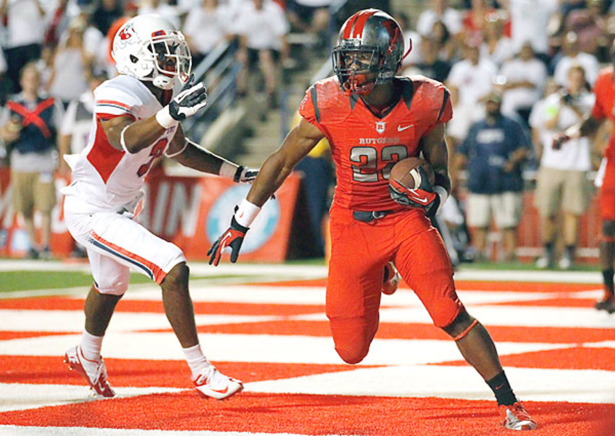 Ian Thomas made his first career interception earlier this season against Fresno State.