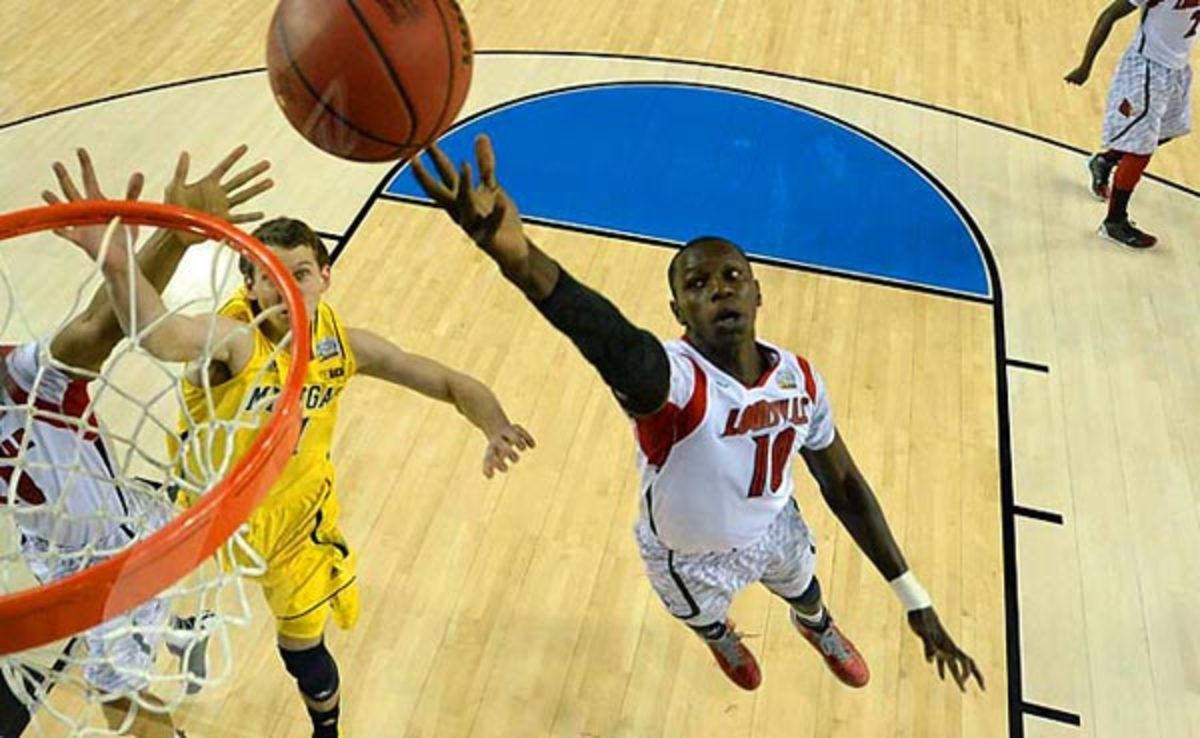 Gorgui Dieng averaged 9.8 points and 9.4 rebounds at Louisville last season.