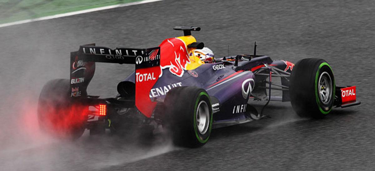 Sebastian Vettel will be going for his fourth straight Formula One world championship.