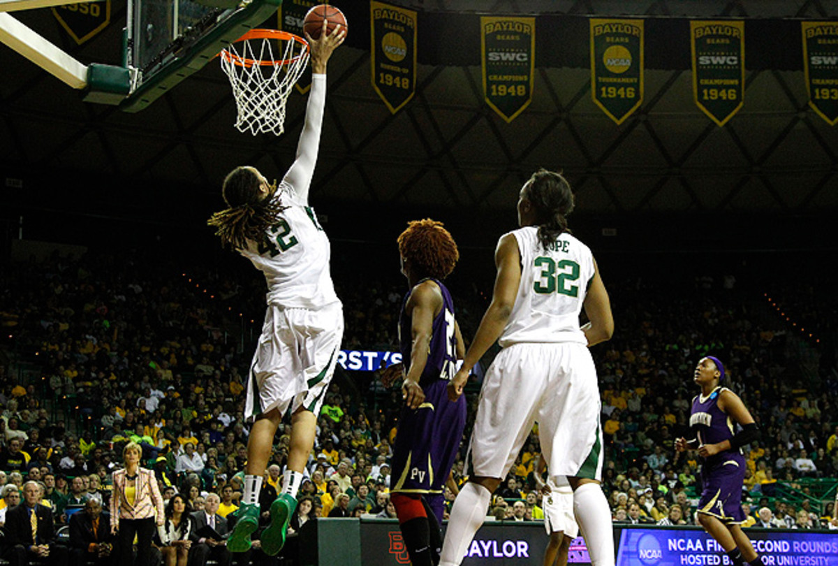 Brittney Griner wouldn't mind adding a dunk contest to the WNBA All-Star festivities.