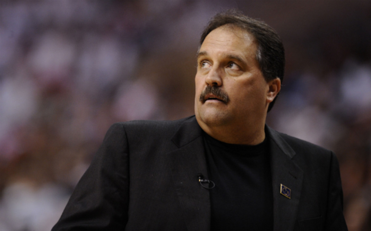 The Clippers could target Stan Van Gundy in their coaching search. (Jeff Zelevansky/Getty Images)