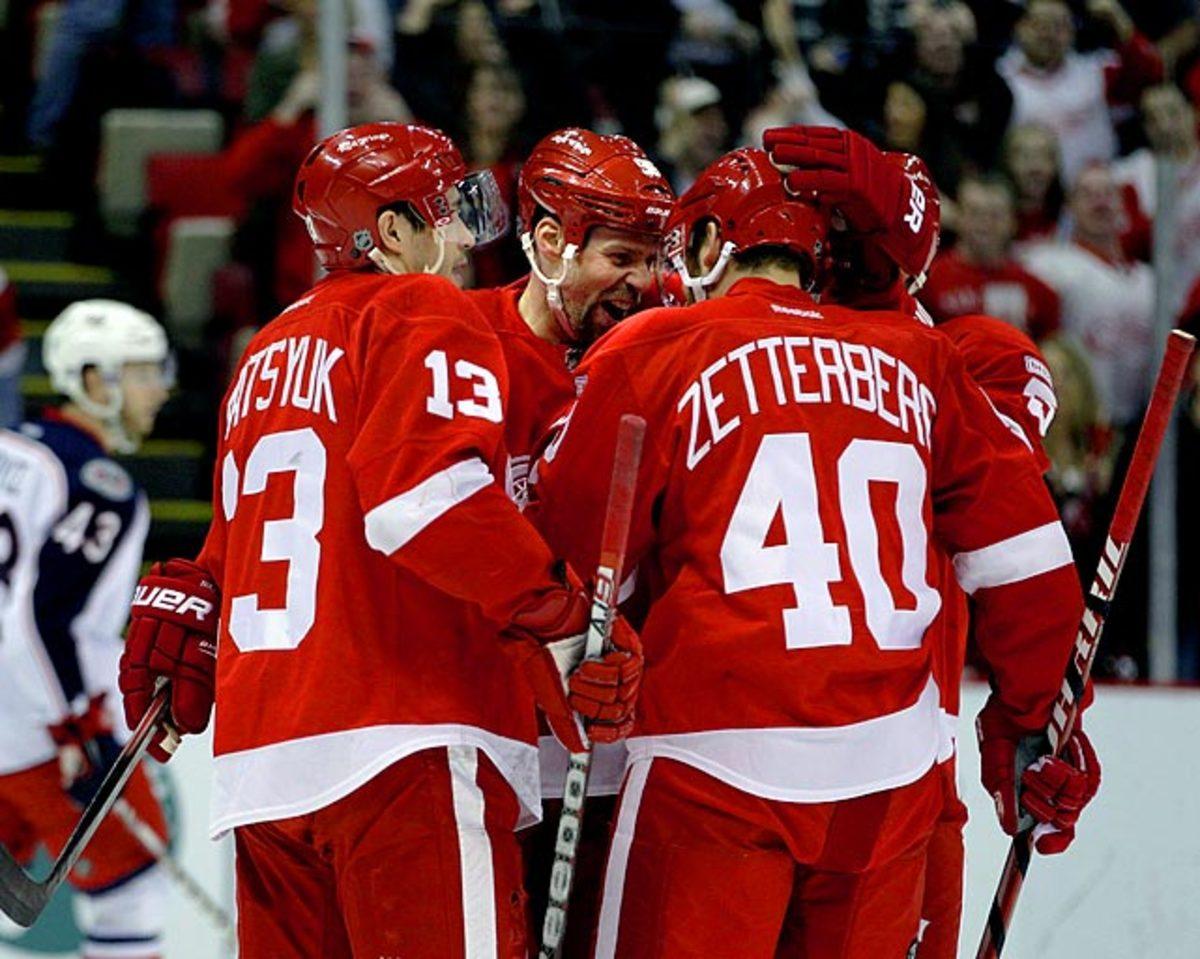 2011-12 Detroit Red Wings