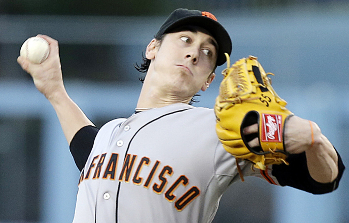 After posting a 10-14 last year, Tim Lincecum received a two-year deal from the Giants.