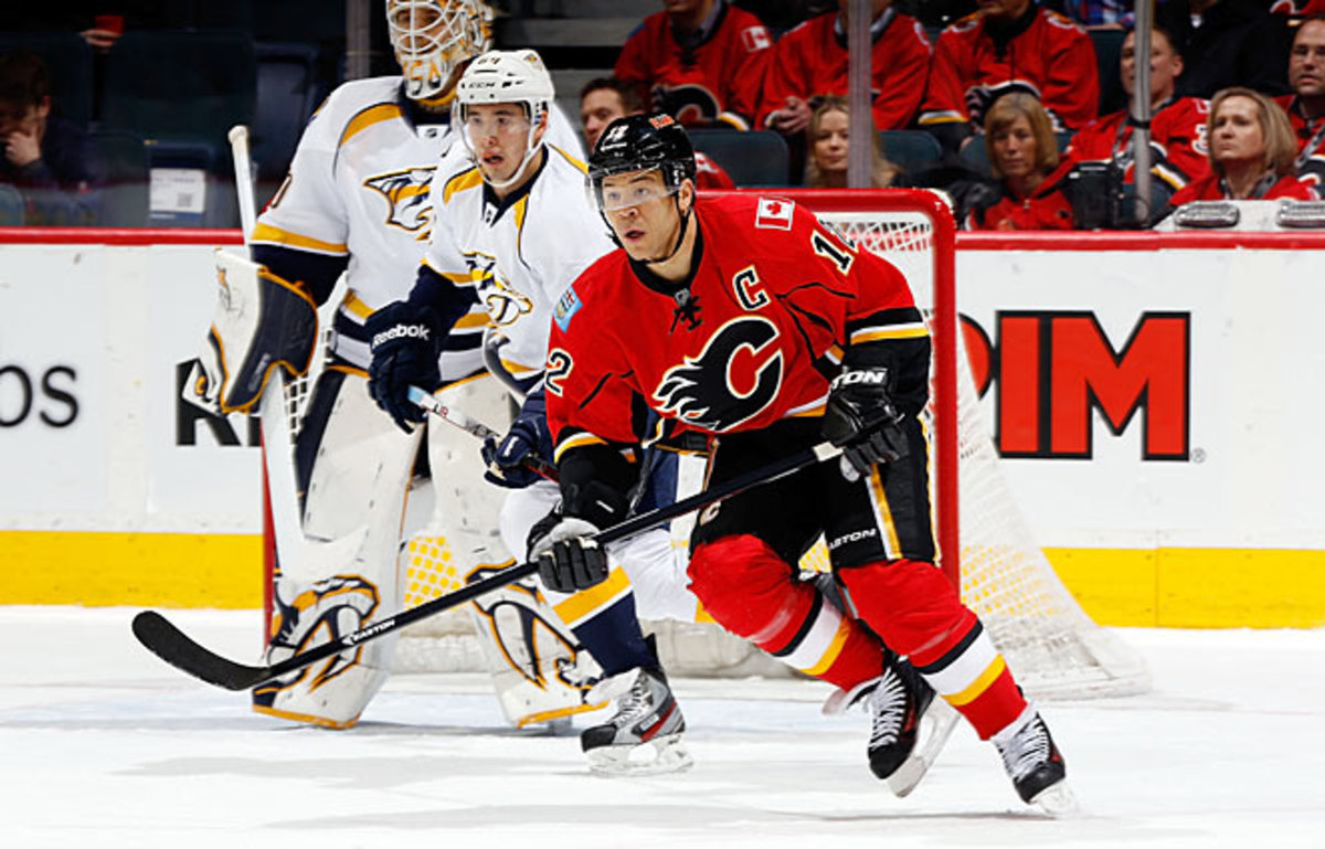 Calgary Flames veteran Jarome Iginla may be the hottest piece of trade bait.