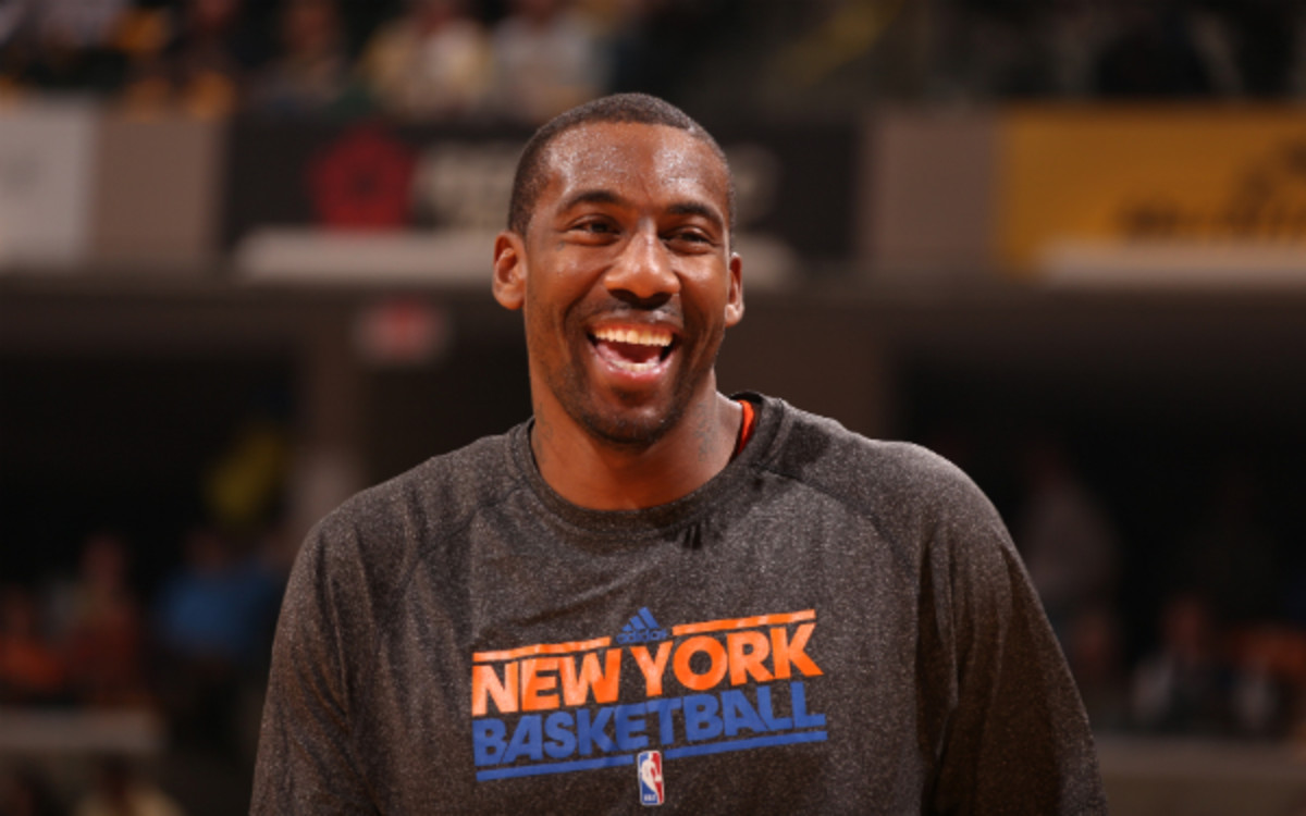Amare Stoudemire underwent another surgery on his knee in July. (Nathaniel S. Butler/Getty Images)
