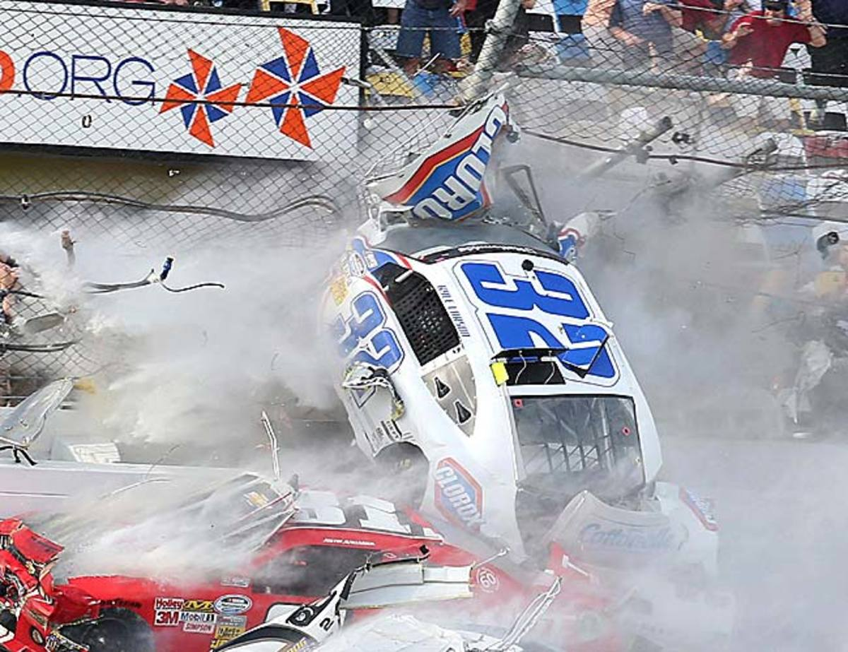 In the wake of a terrible incident involving its fans, NASCAR showed tone-deafness to the gravity of the situation.