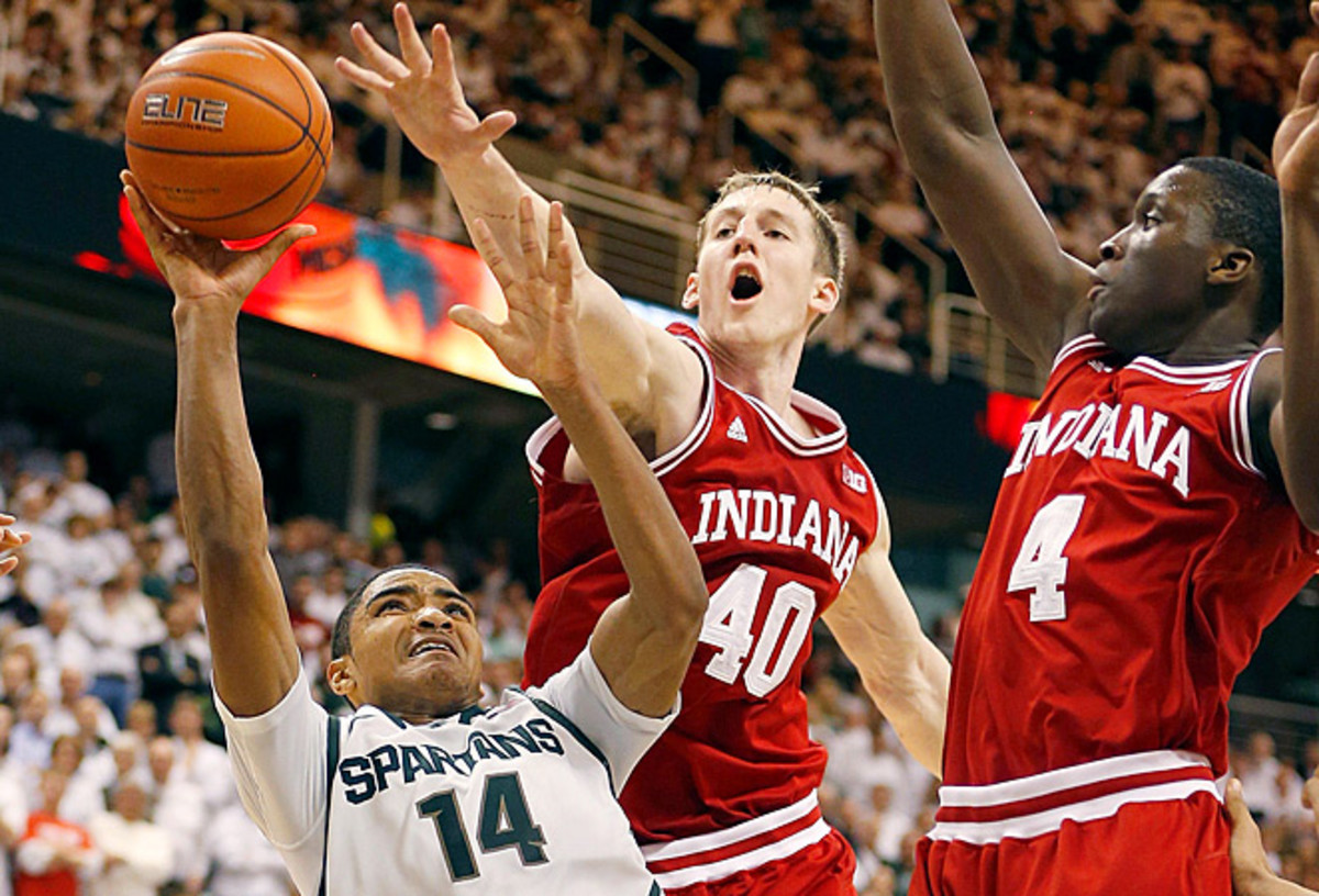 Cody Zeller and No. 1 Indiana turned on the defense late against No. 4 Michigan State.