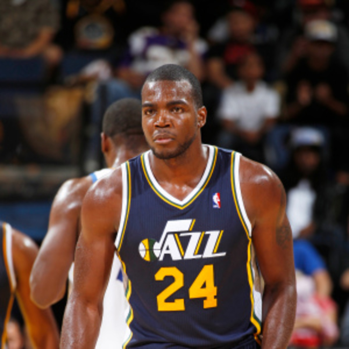 Paul Millsap is getting interest from the Nets. (Rocky Widner/Getty Images)