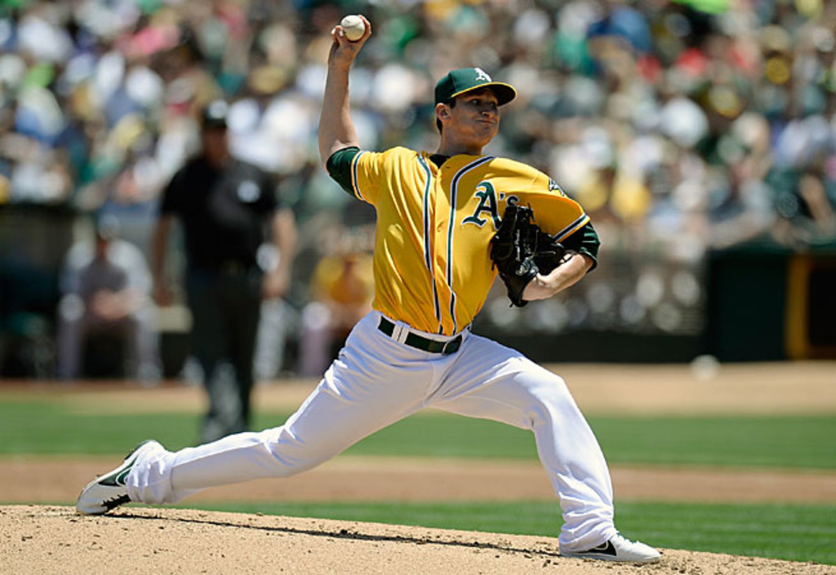 Led by Jarrod Parker and the rest of their pitchers, the A's have cut almost six games off their AL West deficit.