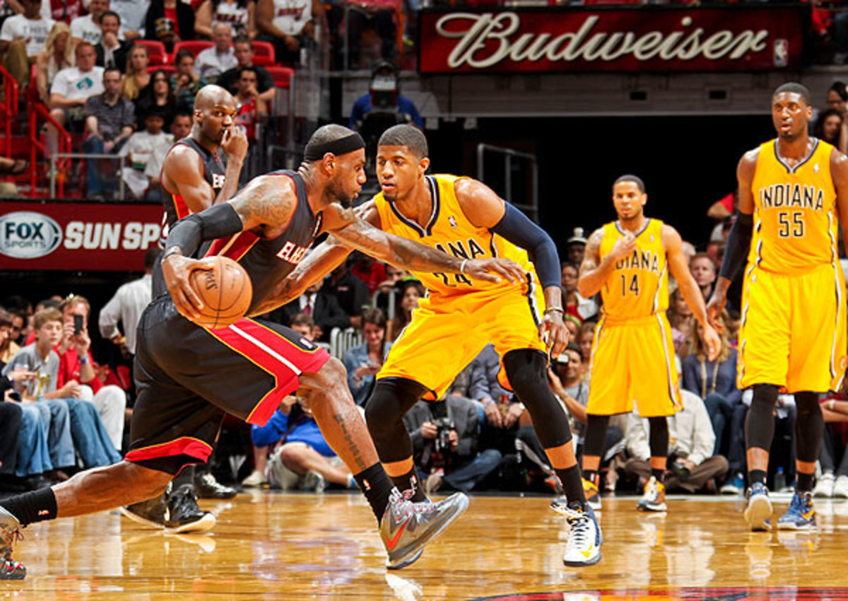 The Indiana Pacers held the edge in the season series, defeating Miami Heat twice in three games.