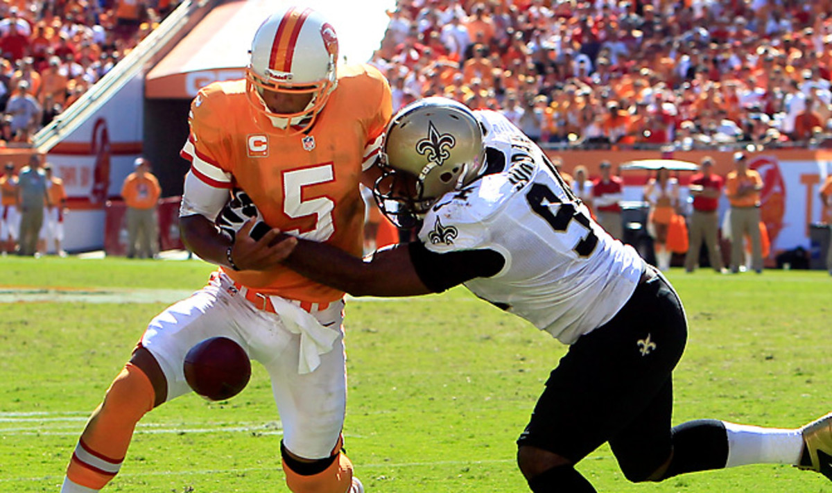 Cameron Jordan (8.0 sacks) led a Saints defense that needs more out of its pass rush in 2013.