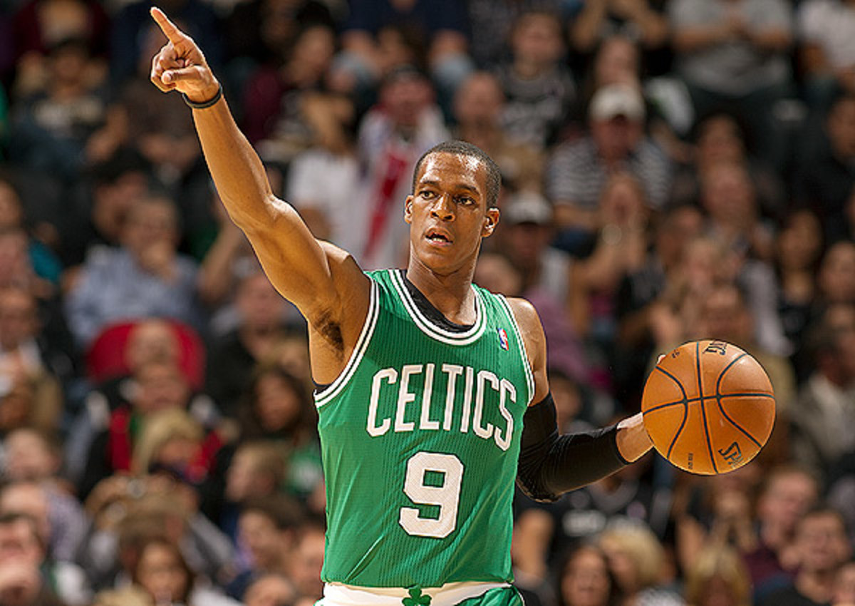Rajon Rondo is all that remains of Boston Celtic's championship core.