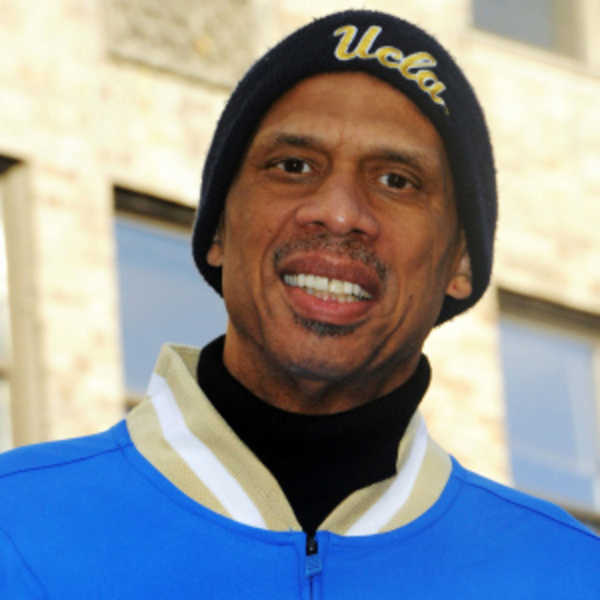 Kareem Abdul-Jabbar has expressed an interest in coaching the UCLA Bruins, his alma mater. (Desiree Navarro/Getty Images)