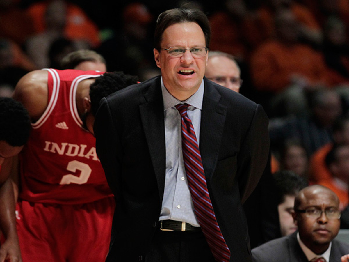 Tom Crean-led Indiana is still feeling the effects of losing its rivalry series with Kentucky. (AJ Mast/Icon SMI)