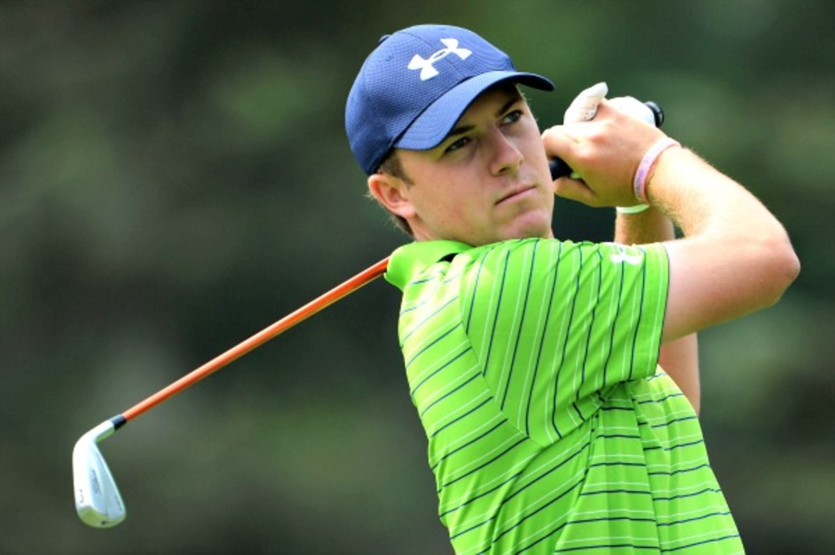 Jordan Spieth has added a Presidents Cup berth to his record-setting rookie season. (Getty Images)