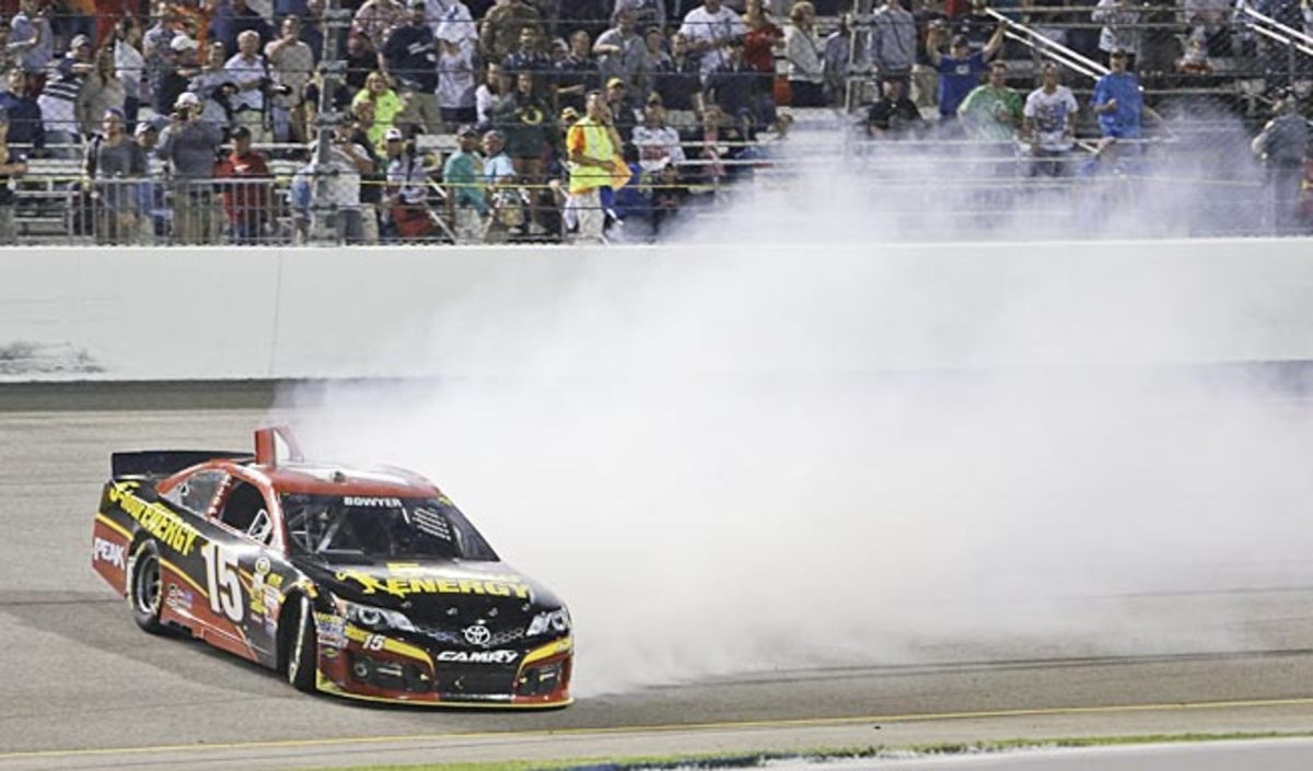 The command that set off Clint Bowyer's Richmond spin was so bizarre it was obvious that it was code.