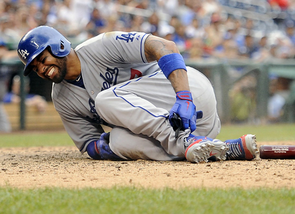 The Dodgers did not rule out yet another return to the DL for Matt Kemp.