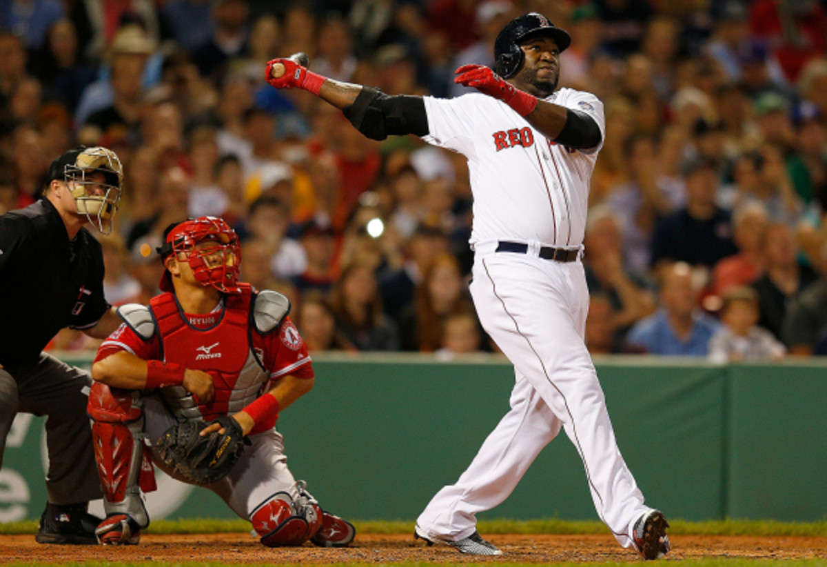 David Ortiz, the 2011 Home Run Derby winner, says he won't participate in the event this year if asked. (Jim Rogash/Getty Images)