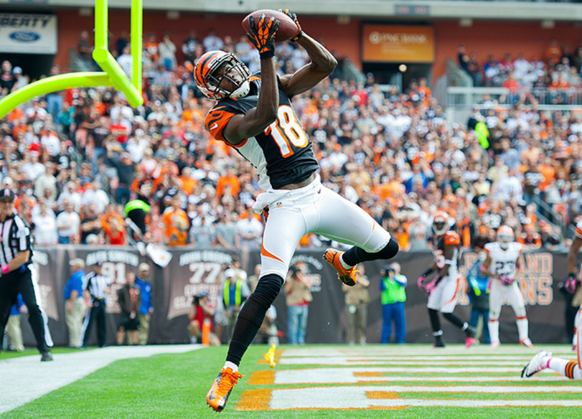 A.J. Green had 97 catches for 1,350 yards in 2012, and should be among the top wide receivers drafted.