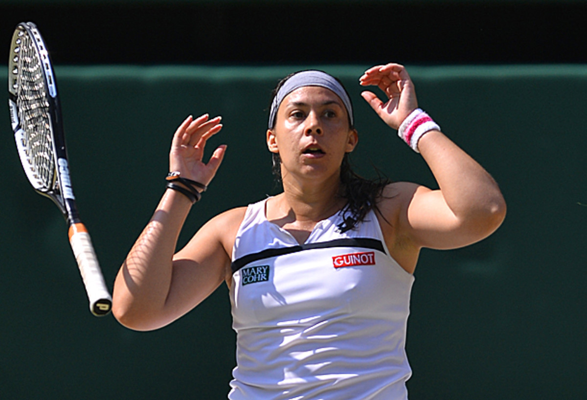 Marion Bartoli didn't lose a single set en route to winning the Wimbledon title. (Carl Court/AFP/Getty Images)