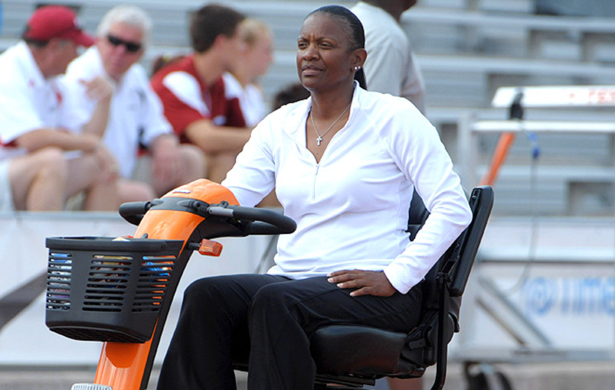Bev Kearney, former Texas women's track coach, resigned in January after news surfaced that she had a relationship with an athlete in 2002.