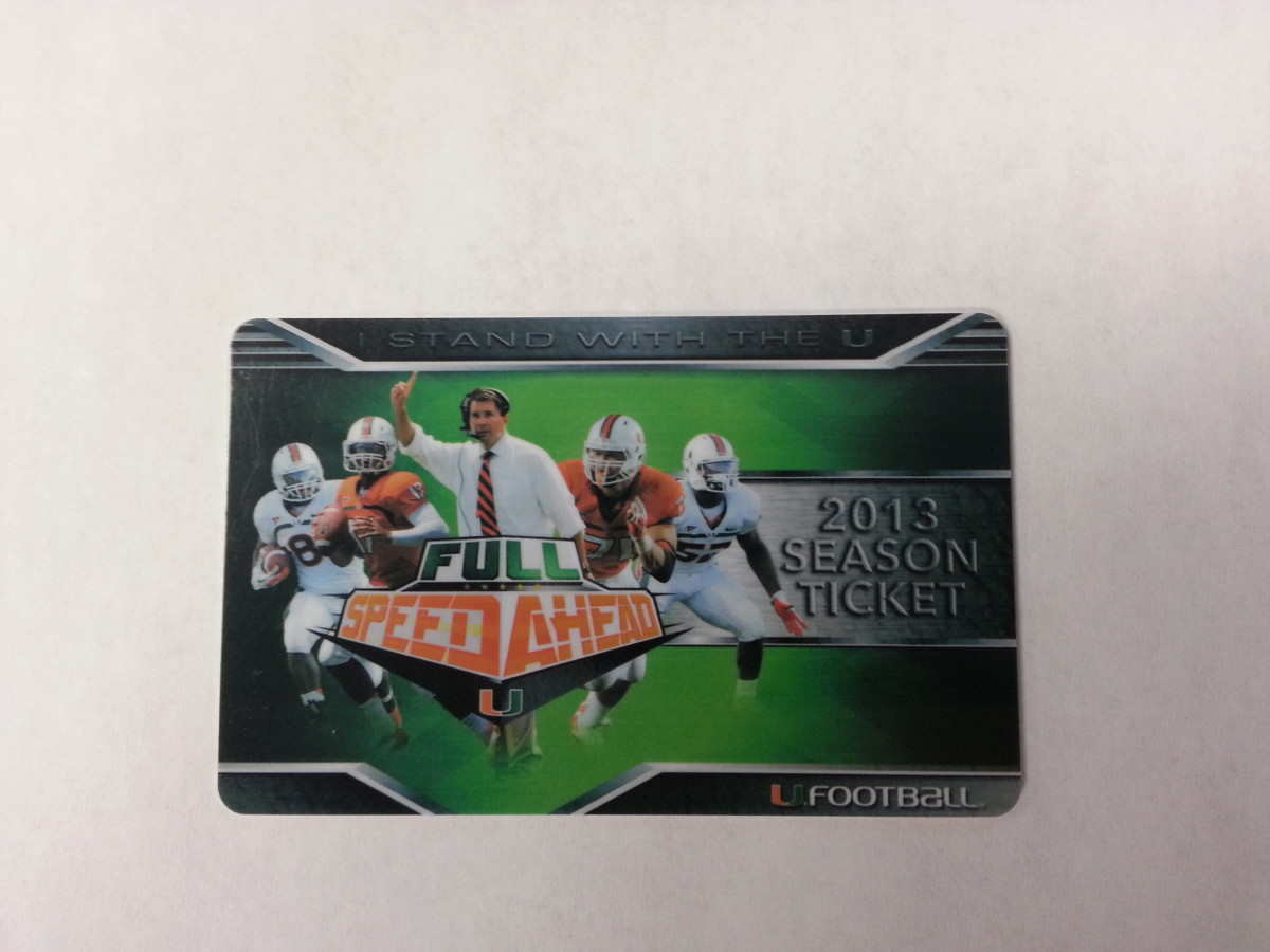 Miami is hoping more people take pictures of their Game Pass than of an empty Sun Life stadium in 2013.