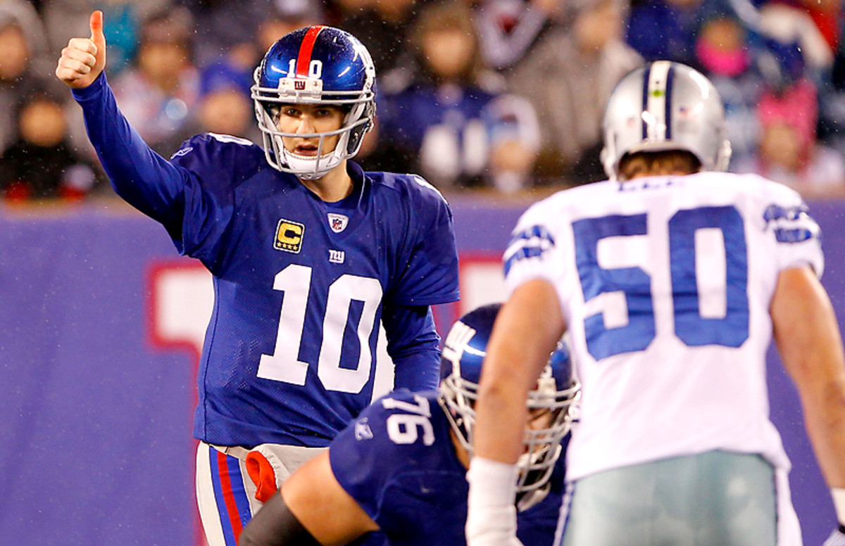 Eli Manning has had the Cowboys' number.