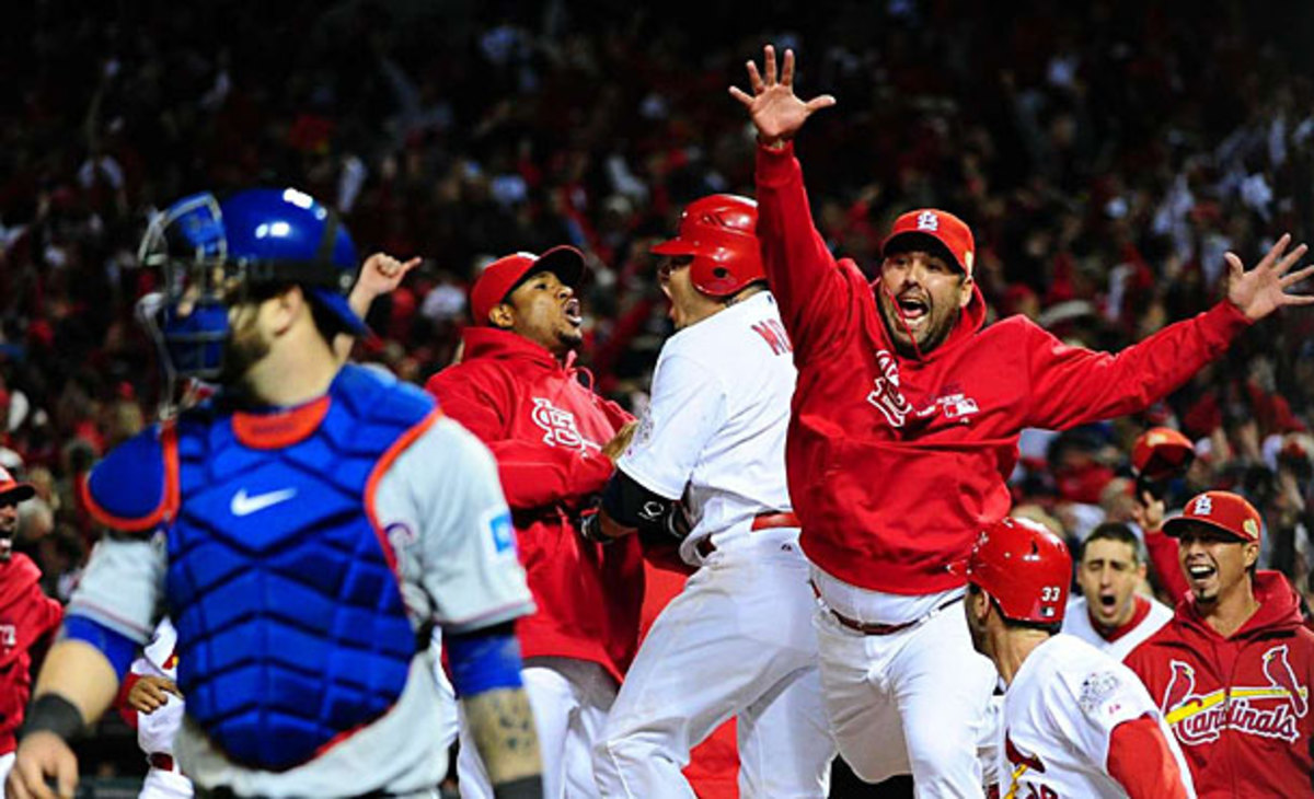 Texas Rangers and St. Louis Cardinals