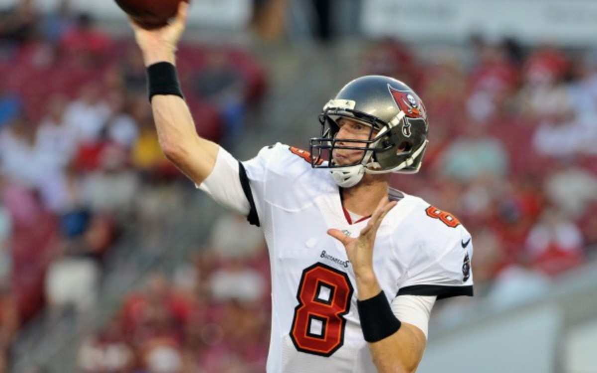 Mike Glennon will now be Tampa Bay's starting quarterback. (Getty Images)