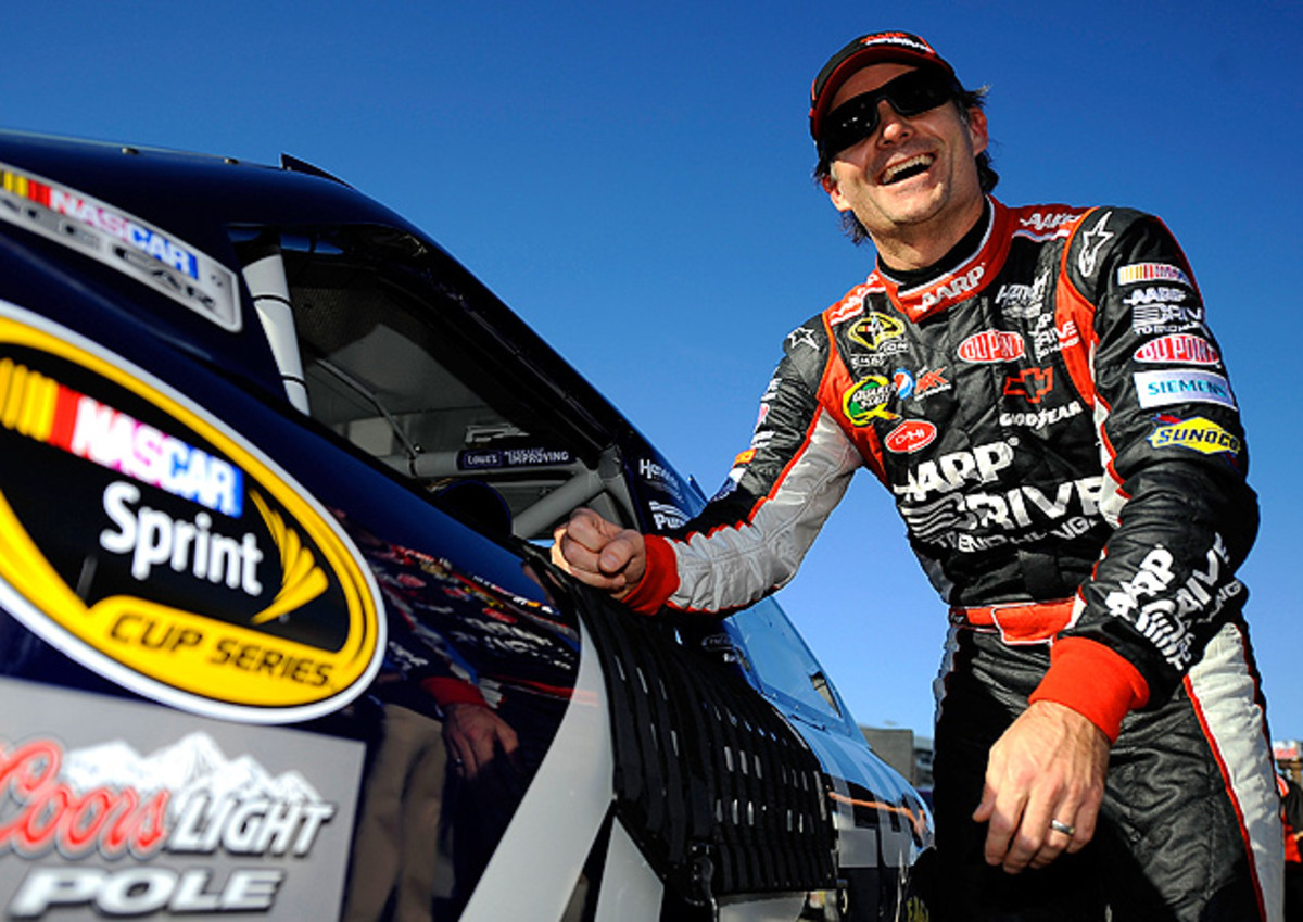 Jeff Gordon won two races in 2012, including the last race at Homestead-Miami, getting his first-ever win at that track.