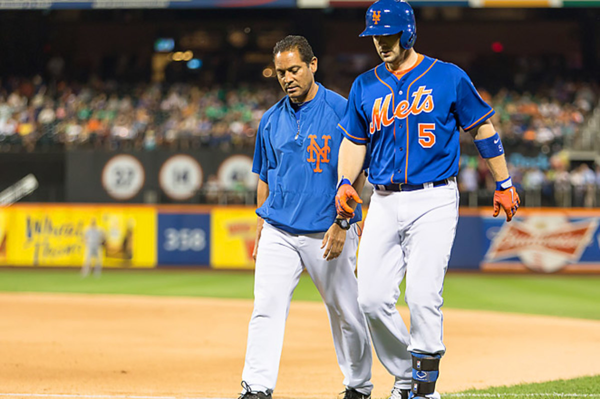 Wright hit his 220th career HR last night, tying Mike Piazza for second-most in franchise history.