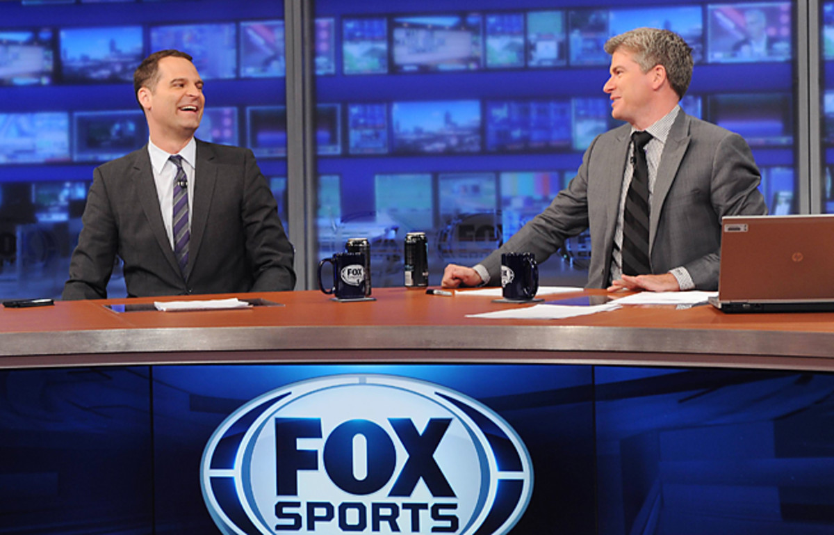 Jay Onrait and Dan O'Toole feel Fox Sports Live's growth is tied to the growth of FS1 sports properties.