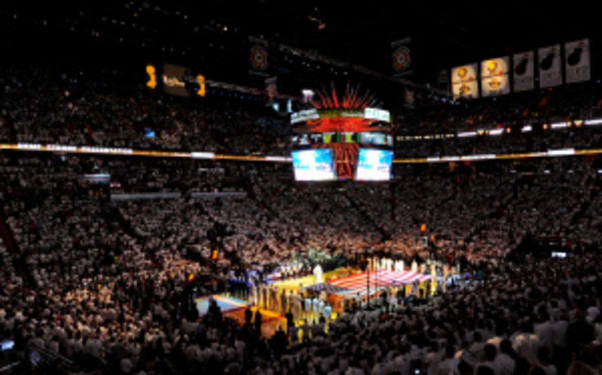 Game 6 marked an historic night for ABC. (Noah Graham/Getty Images)