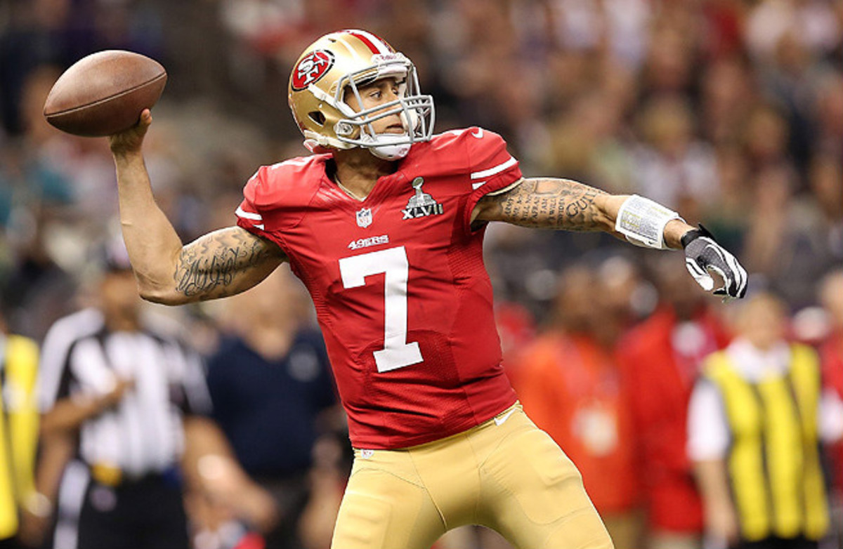After starting the final seven games of the season, Colin Kaepernick amassed 1,814 yards, 10 touchdowns and 8.32 yards per attempt.