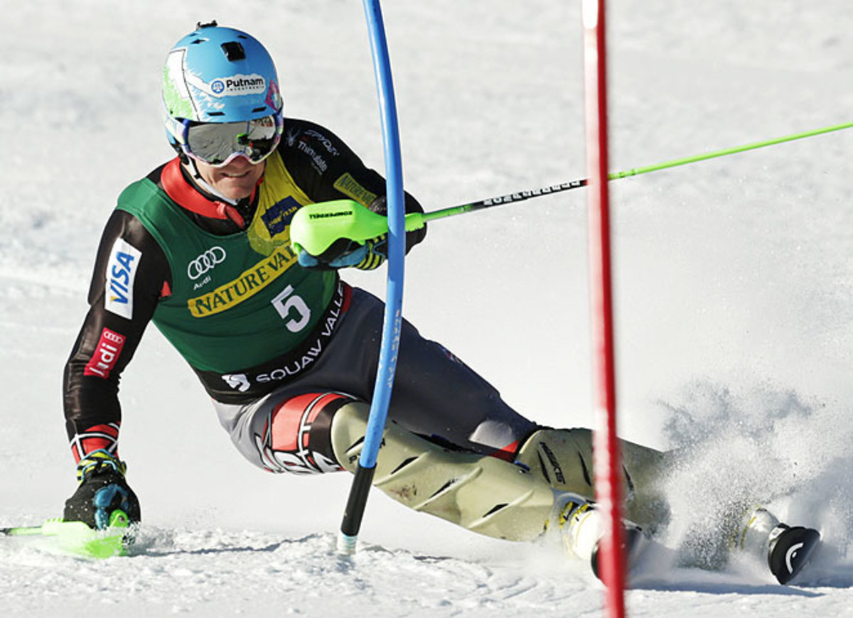 Ted Ligety picked up his seventh career title with a slalom win at Squaw Valley on Saturday.