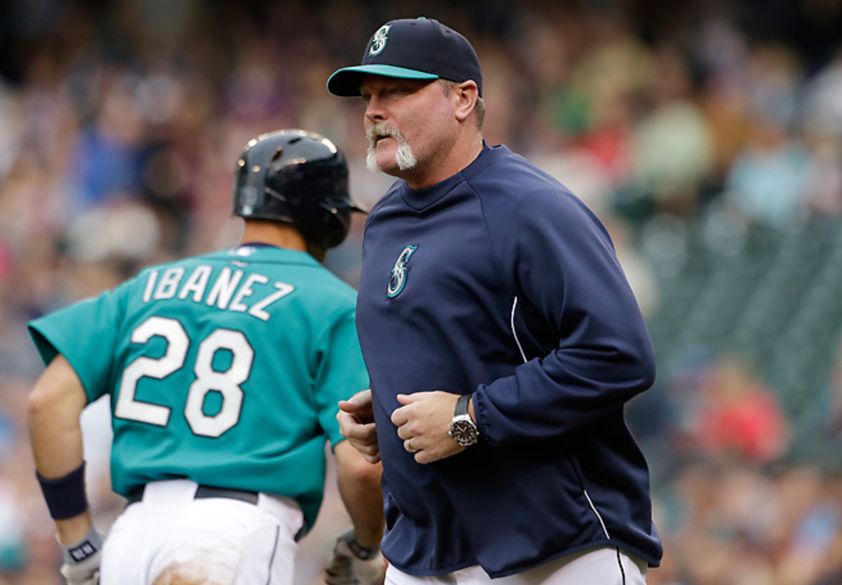 Eric Wedge missed the Mariners' win over the Indians after complaining of dizziness before the game.
