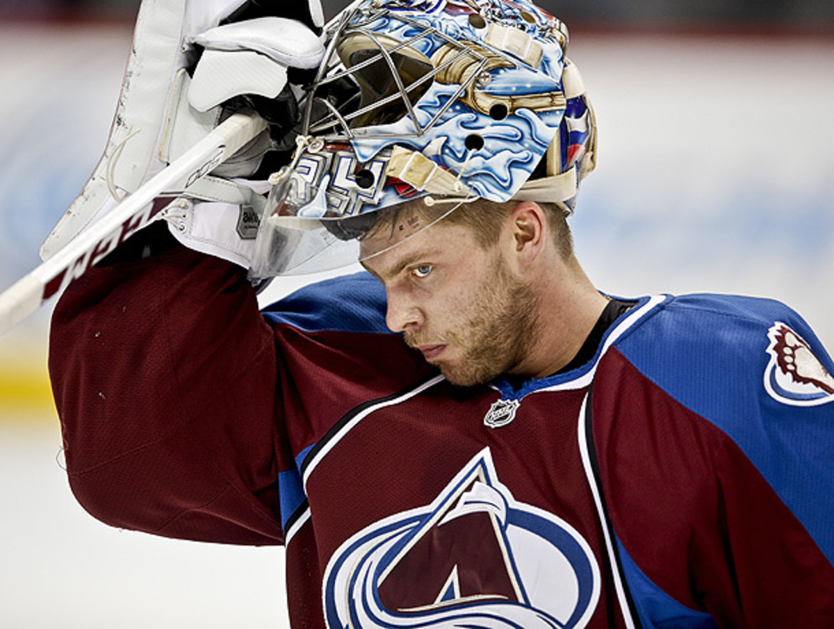 Semyon Varlamov has gone 11-5 with a 2.2 goals against average and .931 save percentage. (Marc Piscotty/Icon SMI)