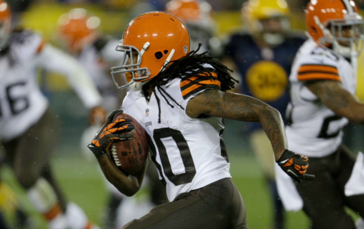 The Browns will be without WR Travis Benjamin for the rest of the season.