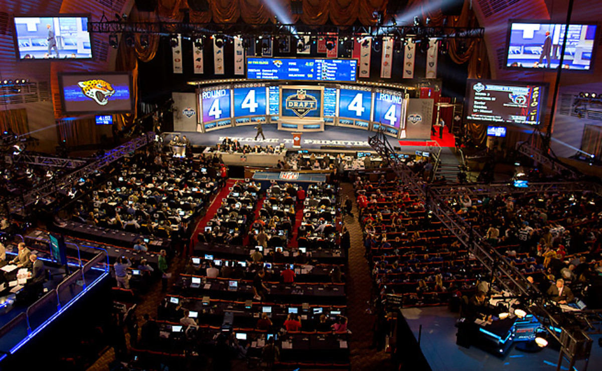 The NFL draft has been held at Radio City Music Hall for the last eight years.